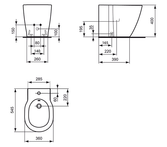 Technical drawing QS-V40373 / E799401