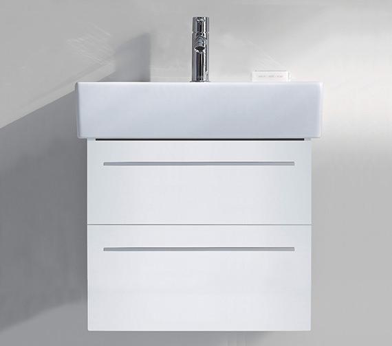 Duravit X-Large 750mm 2 Drawer Unit With 800mm Vero Washbasin