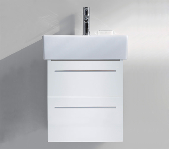 Duravit X-Large 450mm 2 Drawer Unit With 500mm Vero Washbasin