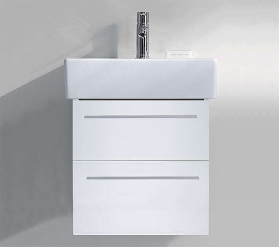Duravit X-Large 550mm 2 Drawer Unit With 600mm Vero Washbasin