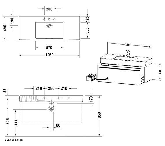 Technical drawing QS-V59018 / XL605204949