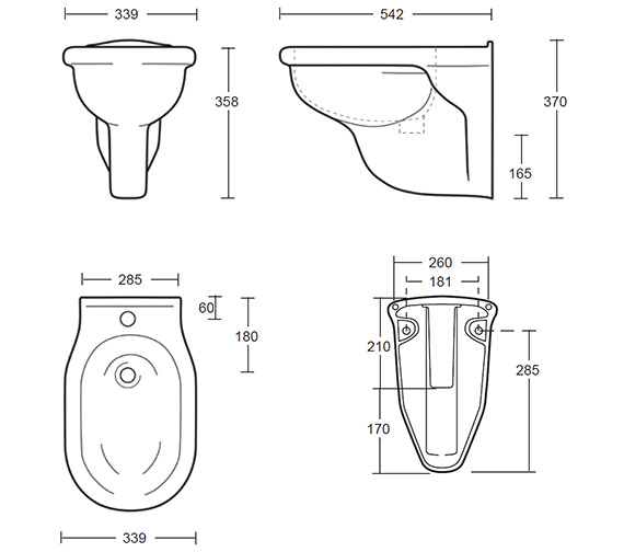 Technical drawing QS-V40551 / ET1BH11030