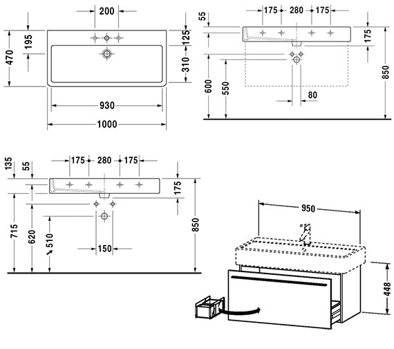 Technical drawing QS-V47448 / XL604305252