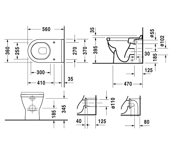 Technical drawing QS-V49589 / 0124090000