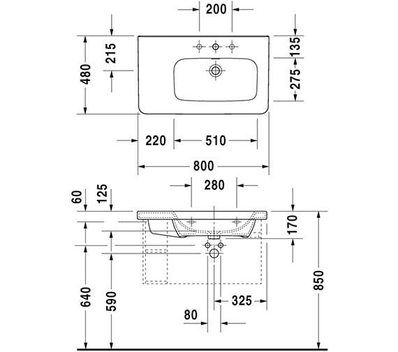 Technical drawing QS-V24982 / DS639301818