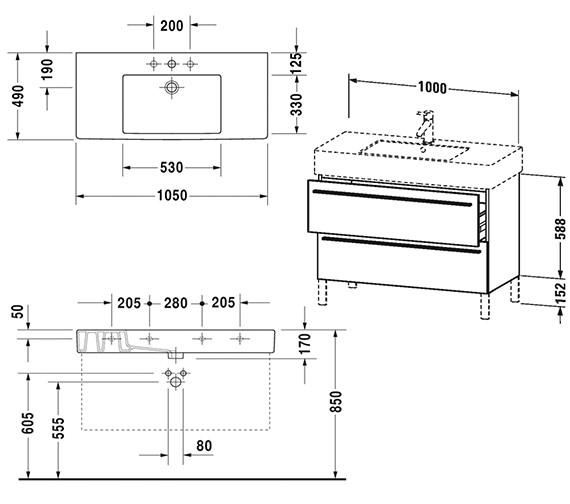 Technical drawing QS-V4428 / XL654401818
