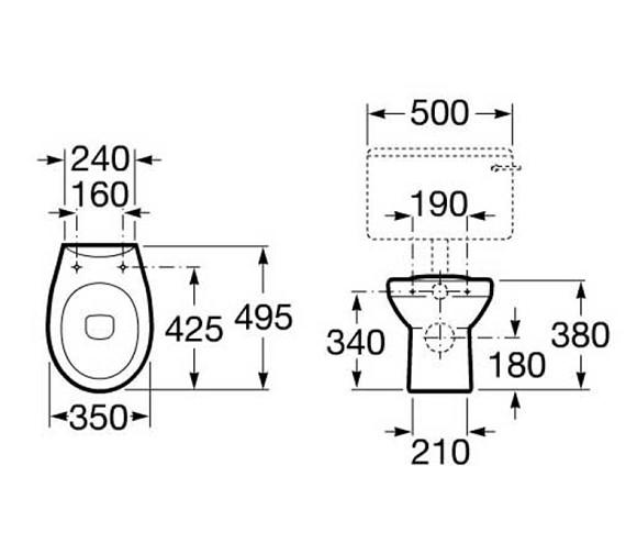 Technical drawing QS-V56781 / 347396000