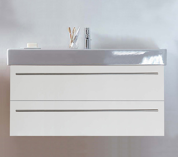 Duravit X-Large 1200mm 2 Drawer Unit With 1250mm Vero Washbasin