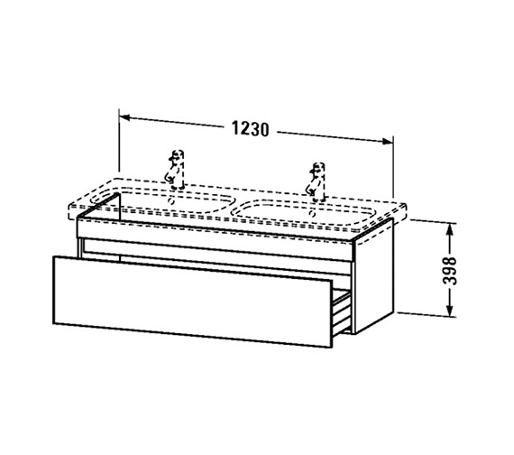 Technical drawing QS-V63441 / DS639801818