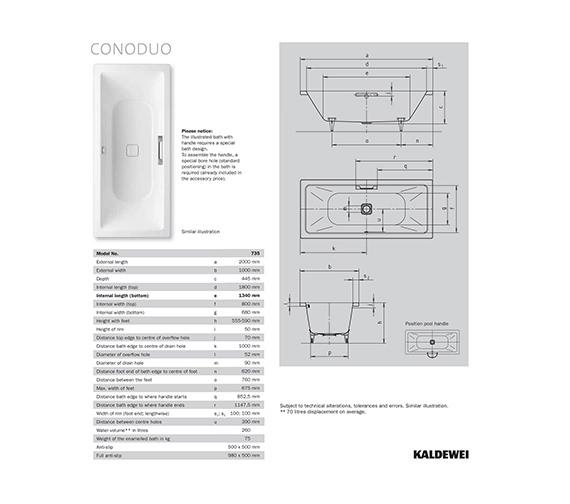 Technical drawing QS-V35946 / 235300010001