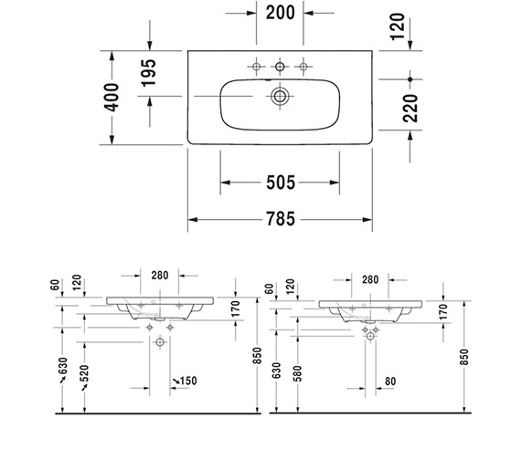 Technical drawing QS-V63443 / DS639901818