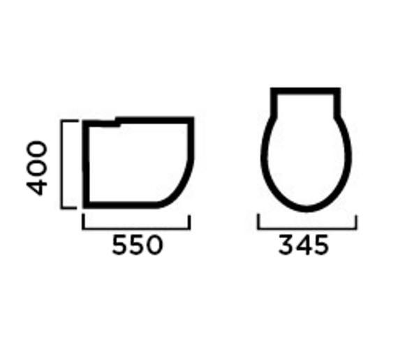 Technical drawing QS-V81327 / EC4004