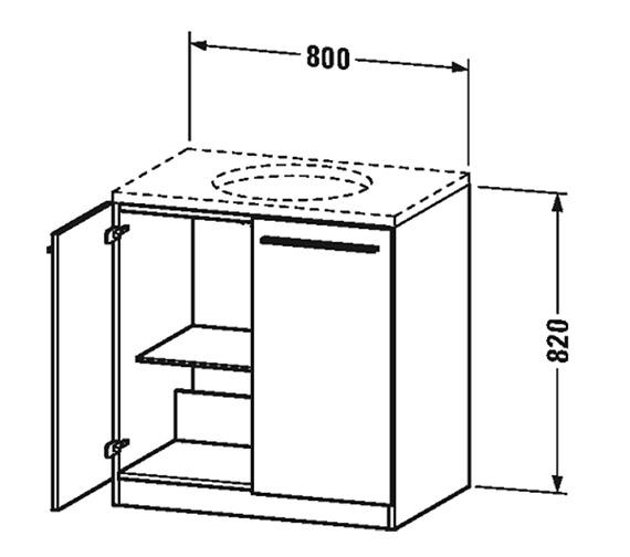 Technical drawing QS-V4439 / XL681001818