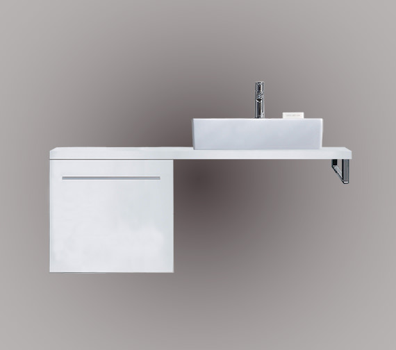 Duravit X-Large 500 x 478mm 1 Compartment Cabinet For Console - XL6533