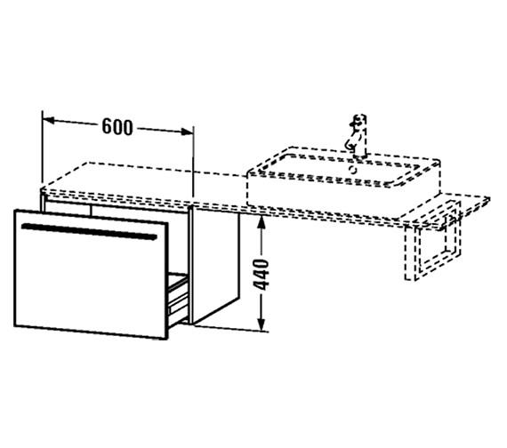 Technical drawing QS-V4450 / XL653401818