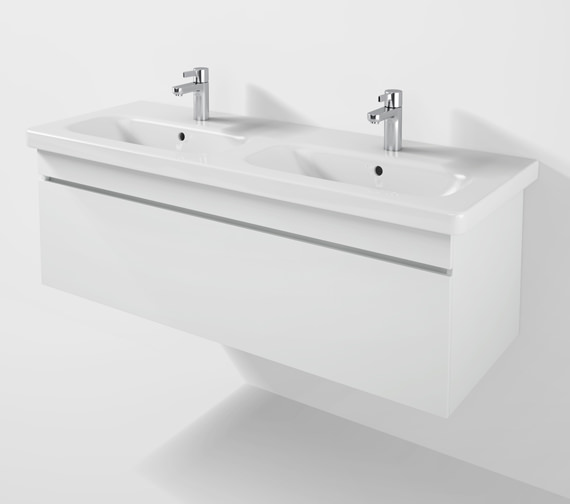 Duravit DuraStyle 1230mm Vanity Unit With Double Basin - DS6398