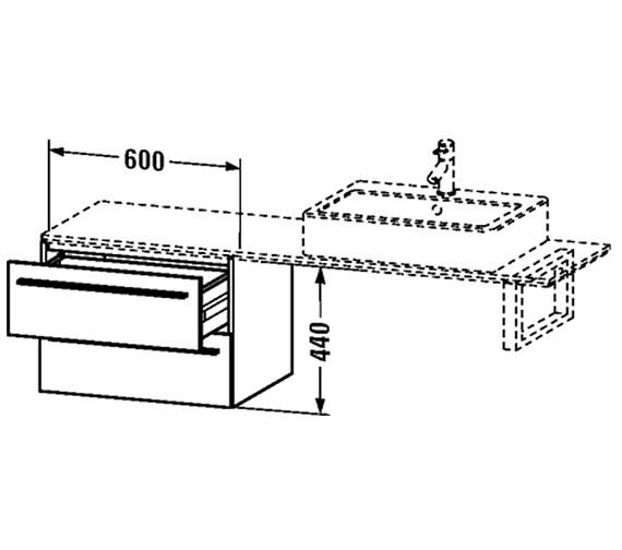 Technical drawing QS-V4454 / XL652401818
