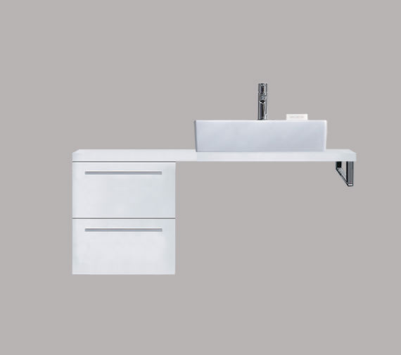 Duravit X-Large 300 x 478mm 2 Drawer Cabinet For Console - XL6521
