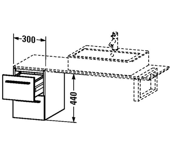 Technical drawing QS-V4451 / XL652101818