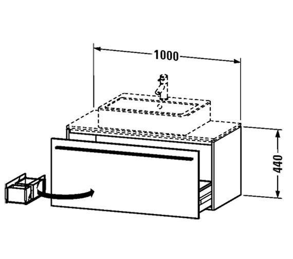 Technical drawing QS-V4441 / XL650001818