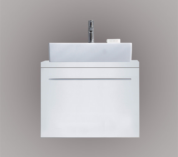 Duravit X-Large 600 x 478mm 1 Compartment Unit For Console - XL6500