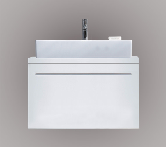 Duravit X-Large 800 x 478mm 1 Compartment Unit For Console - XL 6501