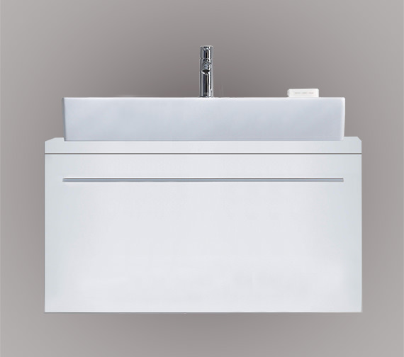 Duravit X-Large 1000 x 478mm 1 Compartment Unit For Console - XL6502