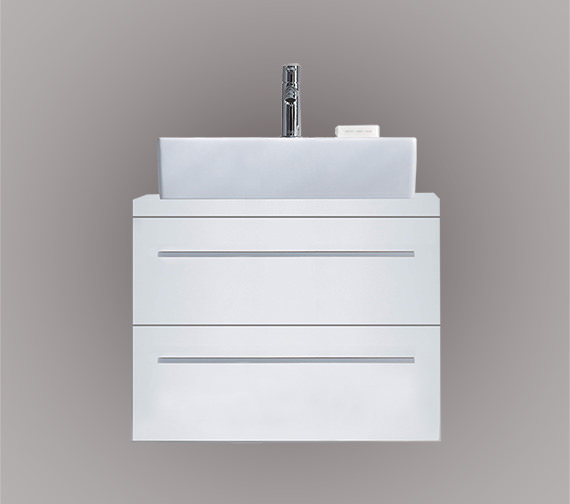 Duravit X-Large 600 x 478mm 2 Drawer Unit For Console - XL651001818