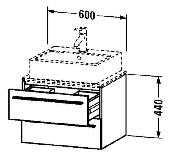 Technical drawing QS-V4444 / XL651001818