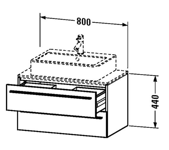 Technical drawing QS-V4445 / XL651101818