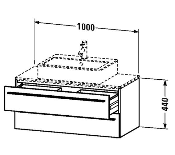 Technical drawing QS-V4446 / XL651201818