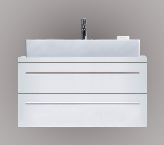 Duravit X-Large 1000 x 478mm 2 Drawer Unit For Console - XL651201818