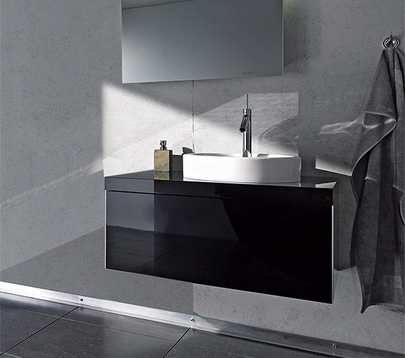 Duravit Starck 835mm Wall Mounted 1 Compartment Vanity