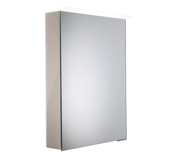 Alternate image of Roper Rhodes Virtue 505 x 705mm LED Illuminated Mirror Cabinet Gloss White