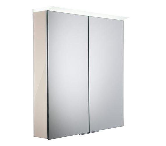 Roper Rhodes Visage Gloss Calico LED Mirror Cabinet - VS65ALGCA