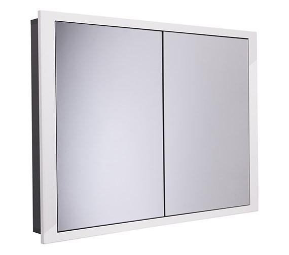 Roper Rhodes Scheme 1040 x 120mm Recessed Cabinet Gloss White