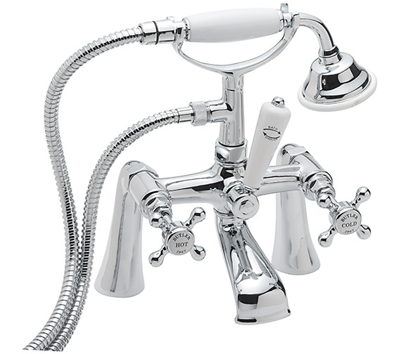 Sagittarius Butler Deck Mounted Bath Shower Mixer Tap With No.1 Kit