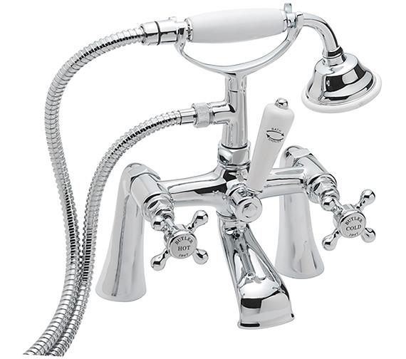Sagittarius Butler Deck Mounted Bath Shower Mixer Tap With No.1 Kit