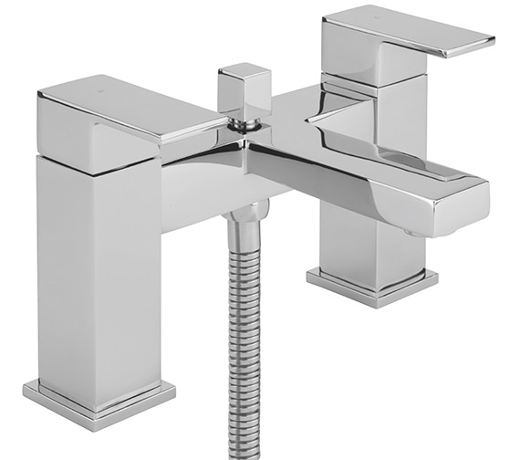 Sagittarius Blade Deck Mounted Bath Shower Mixer Tap With No.1 Kit