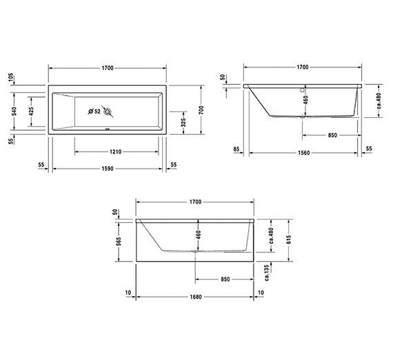Technical drawing QS-V53205 / 700144000000000