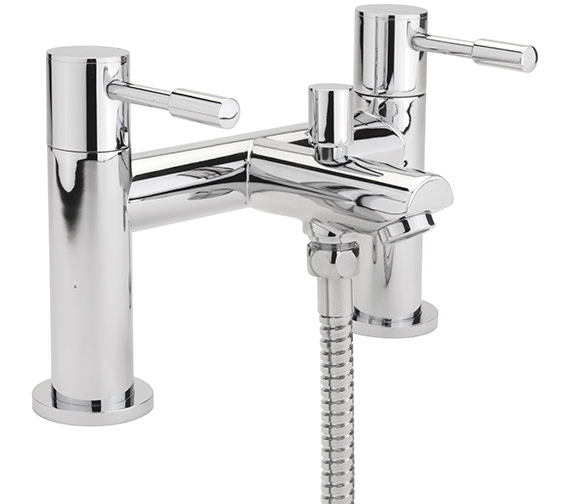 Sagittarius Boston Deck Mounted Bath Shower Mixer Tap With No.1 Kit
