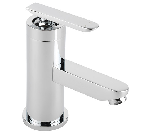 Sagittarius Eclipse Monobloc Basin Mixer Tap With Sprung Waste
