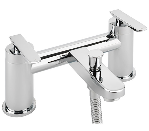 Sagittarius Eclipse Deck Mounted Bath Shower Mixer Tap And No.1 Kit