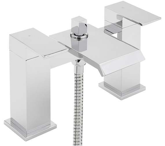 Sagittarius Dakota Deck Mounted Bath Shower Mixer Tap With No.1 Kit