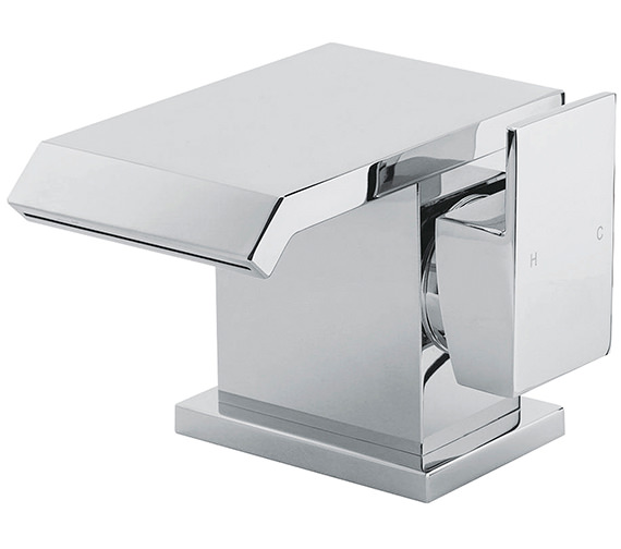 Sagittarius Dakota Monobloc Basin Mixer Tap With Sprung Waste
