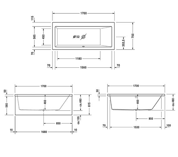 Technical drawing QS-V47609 / 760133000JS1000