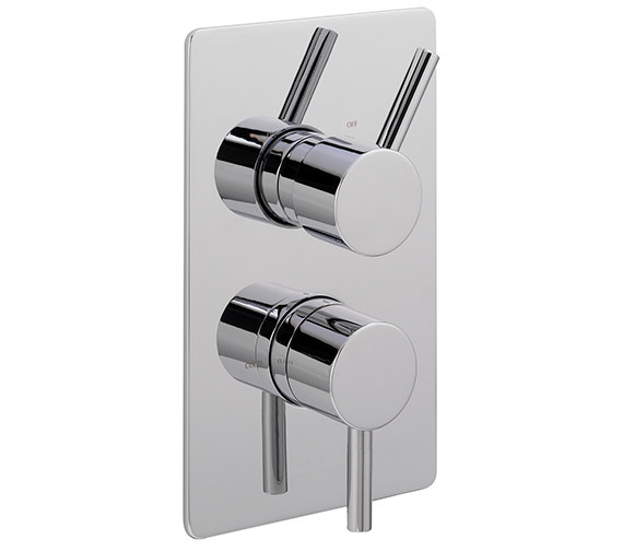 Sagittarius Ergo Concealed Thermostatic Shower Valve With 2 Way Diverter