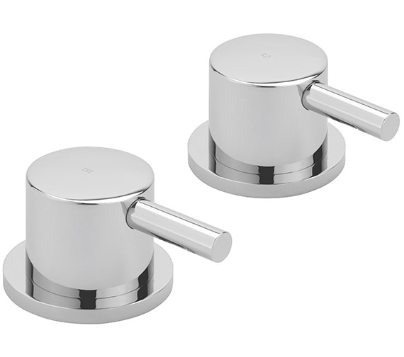 Sagittarius Ergo Pair Of 3-4 Inch Deck Mounted Side Valves