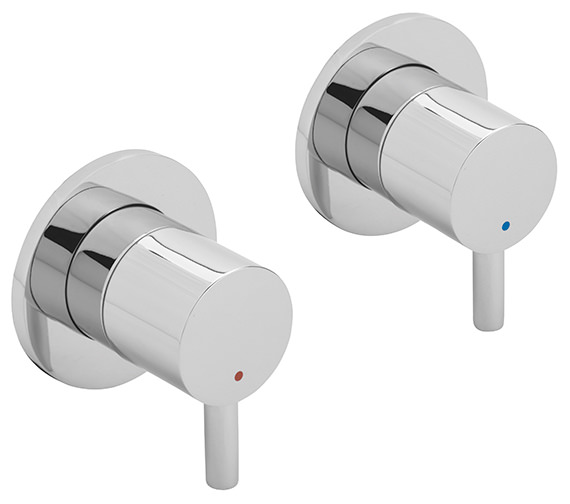 Sagittarius Ergo Pair Of 0.5 Inch Wall Mounted Side Valves