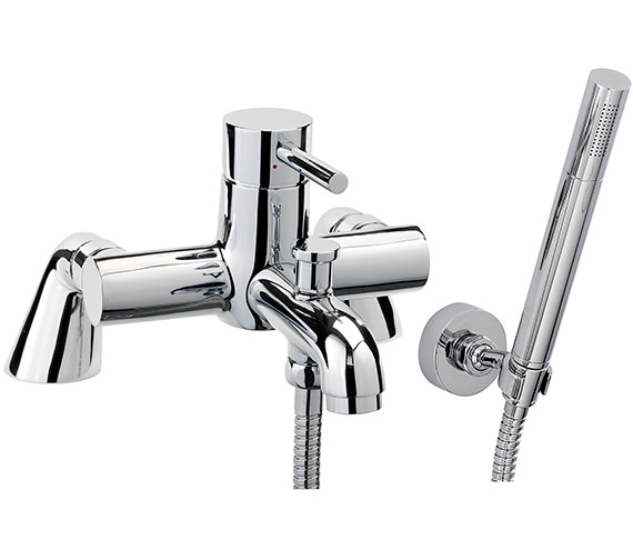 Sagittarius Ergo Pillar Bath Shower Mixer Tap With No.1 Kit